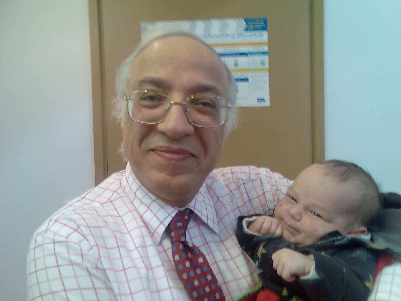 dr youssif and 8 weeks old